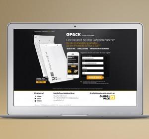 <span>Globalpack landing page</span><i>→</i>
